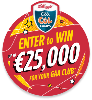 €25,000 to be won for your GAA club